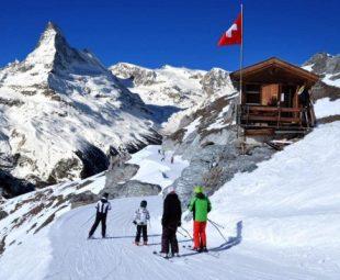 Switzerland Ski Resorts Paradise